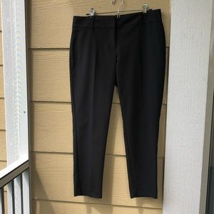 White House Black Market Black Ankle Pants